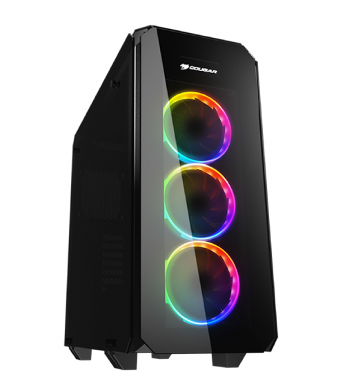 Cougar Puritas Mid Tower Tempered Glass 3 x 120mm RGB Fans